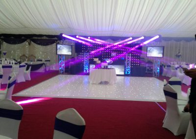 dance floor hire york